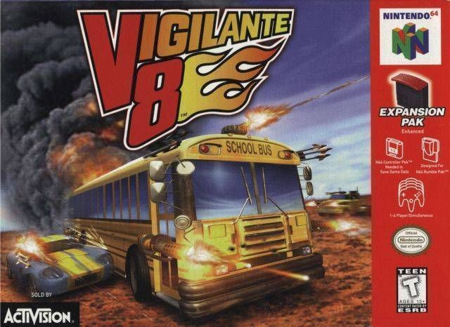 rom de vigilante 8 para n64