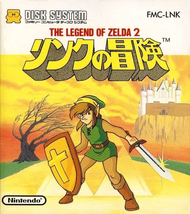 Link No Bouken - The Legend Of Zelda 2