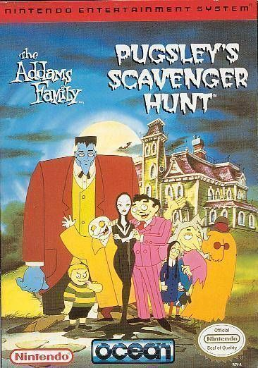Addams Family - Pugsley's Scavenger Hunt, The