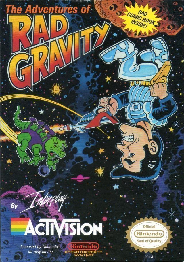 Adventures Of Rad Gravity The Rom Nintendo Nes Emulator Games