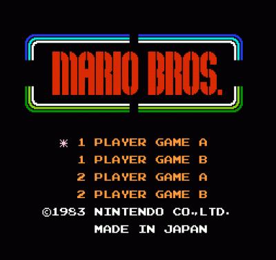 Afro Mario Bros (Mario Bros Hack)