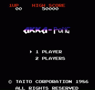 Akka-Pong (Arkanoid Hack) [a1]