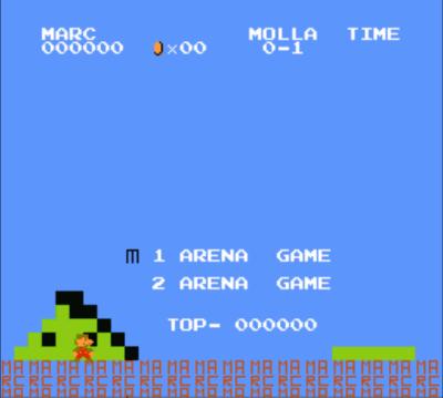 Arena Mario (SMB1 Hack)