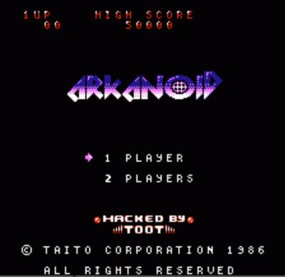 Arkanoid 98 (Arkanoid Hack)