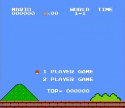 Bald Mario (SMB1 Hack)