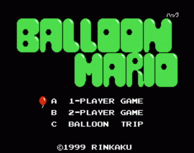 Balloon Mario (Joust Hack)