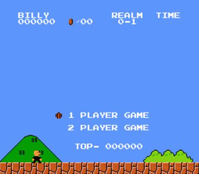 Billy Bros (SMB1 Hack)