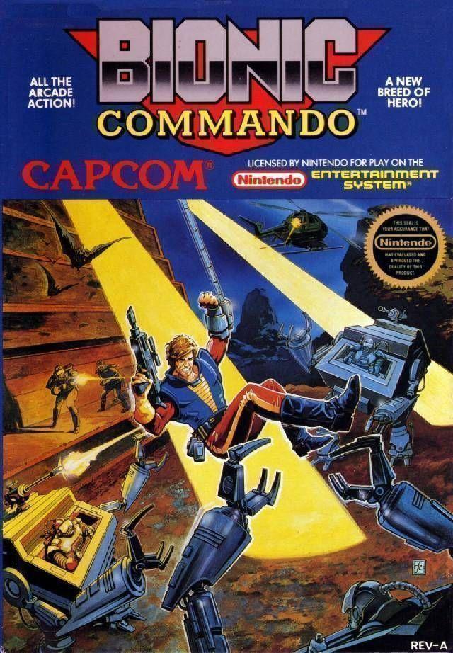 Bionic Commando 99 (Hack)