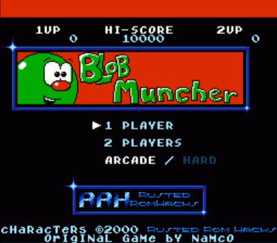 Blob Muncher (Ms Pac-Man Hack) (Namco)