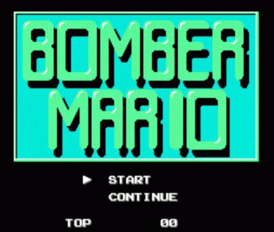 Bomber Mario (Bomberman Hack)