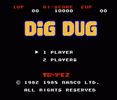 BuB-BoB (Dig Dug Hack)
