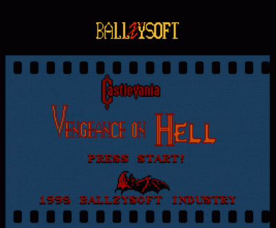 Castlevania 2 - Vengence On Hell (Hack)