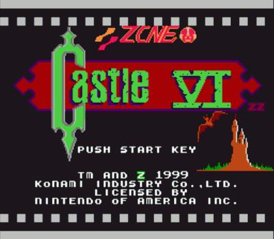Castlevania 6 (Castlevania Hack)