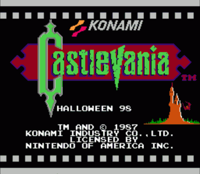 Castlevania - Halloween 98 (Hack)