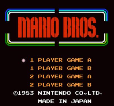 Censored Mario (Mario Bros Hack)