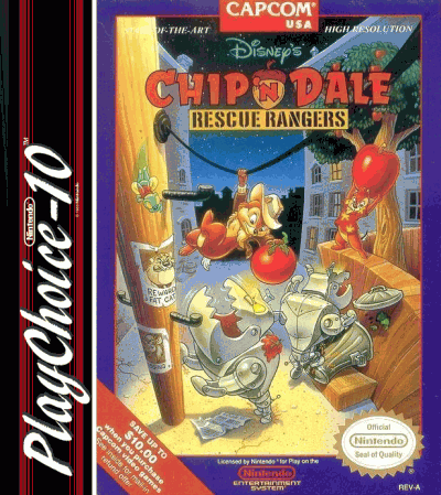 Chip 'n Dale Rescue Rangers (PC10)