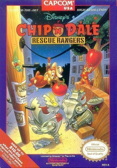 Chip 'n Dale Rescue Rangers [T-Swed]