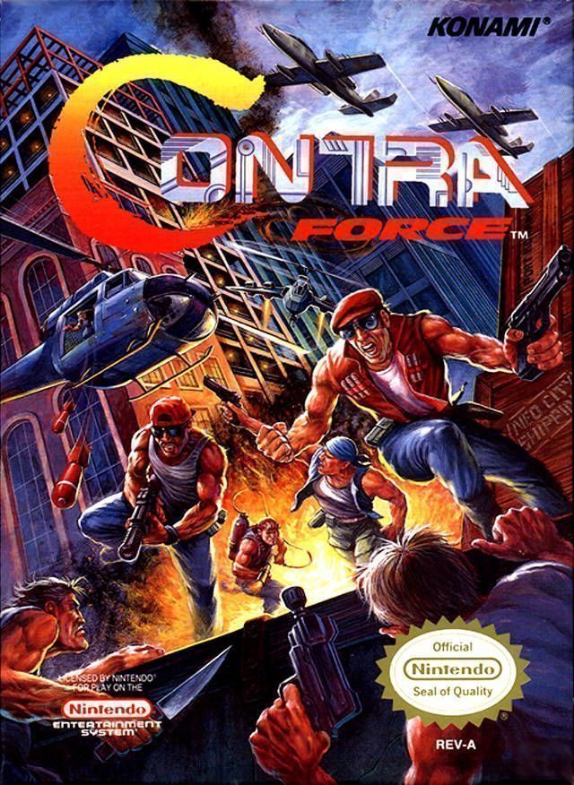 contra force download nes