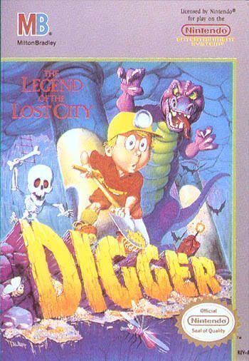 Digger - The Legend Of The Lost City