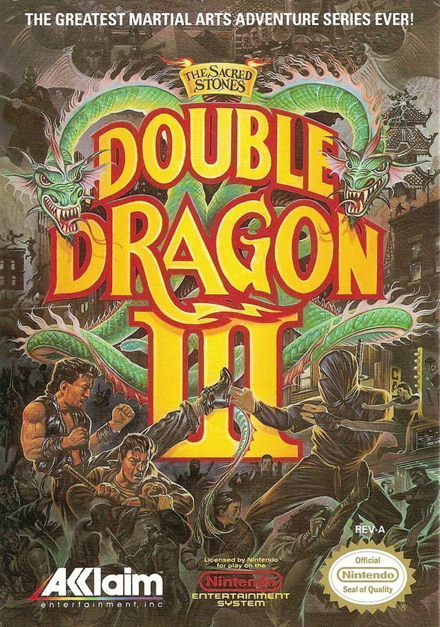 Double Dragon 3 - The Sacred Stones [T-Span1.0]