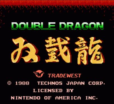 Double Dragon - RCR Edition V0.5a (Hack)