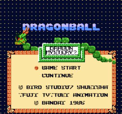 Dragon Ball - Dragon Mystery (Hack)