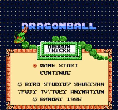 Dragon Ball - Dragon Tricks (Hack)