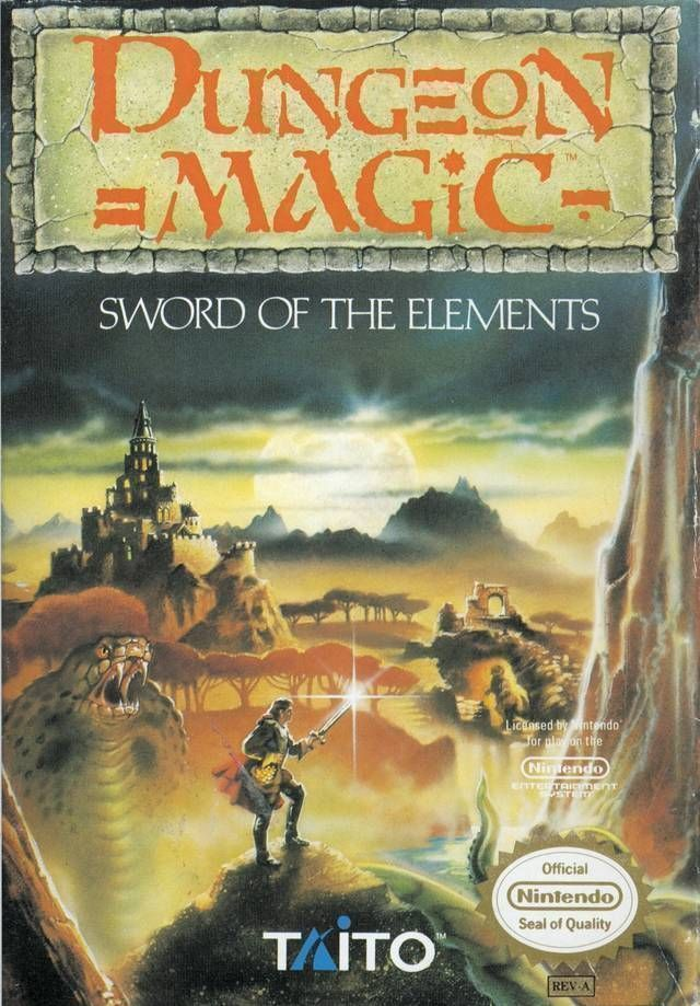 Dungeon Magic - Sword Of The Elements