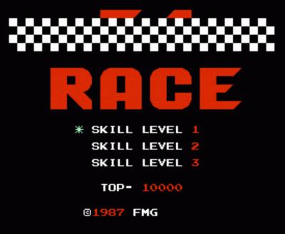 F 1 Race Rom Nintendo Nes Emulator Games