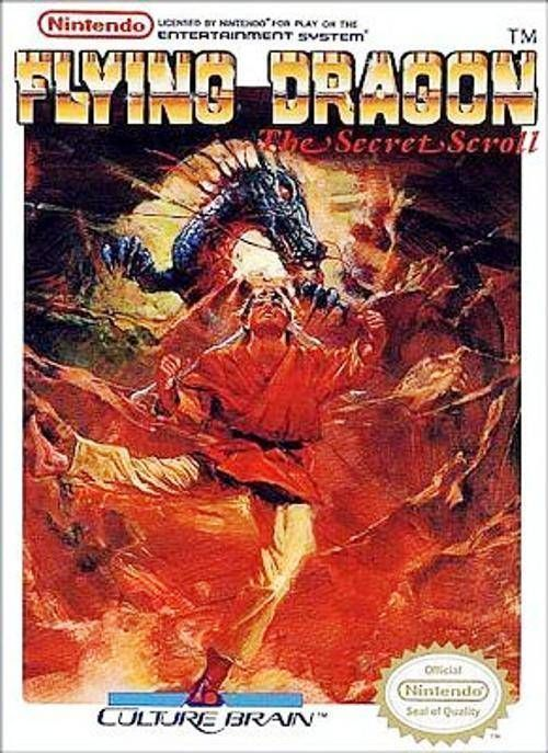 Flying Dragon - The Secret Scroll