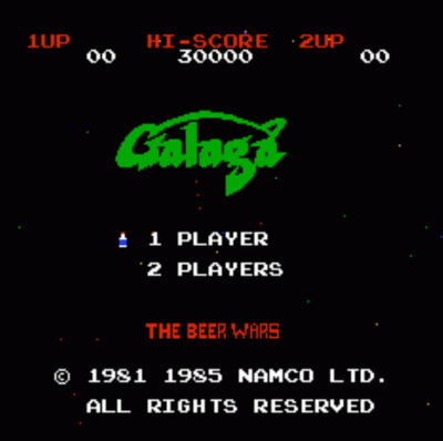 Galaga Beer Wars (Hack)