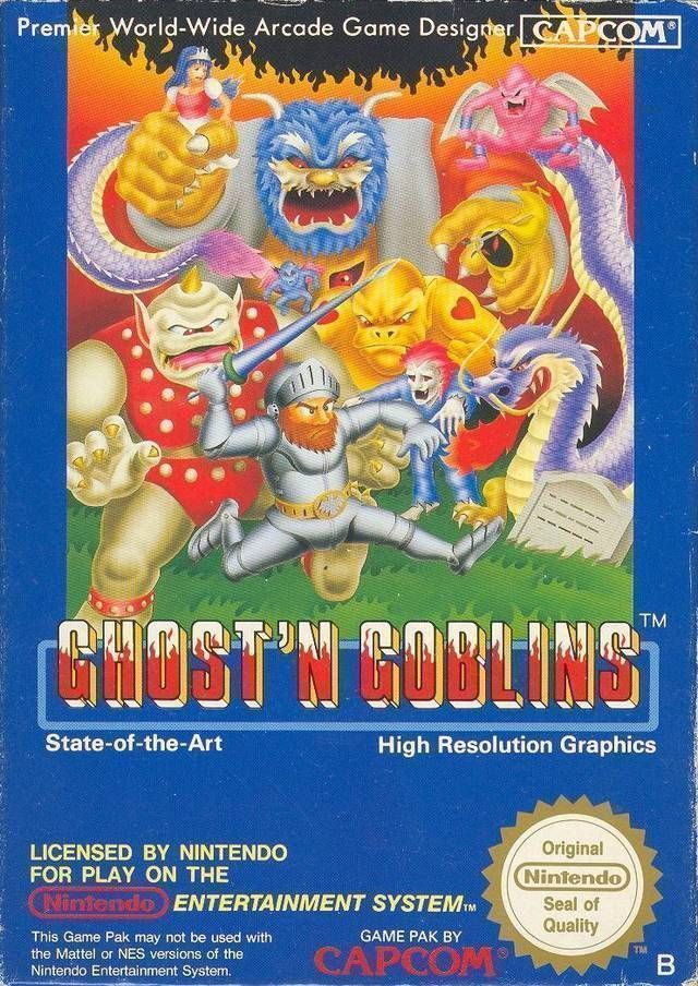 Ghosts & Goblins Hardtype (Hack)