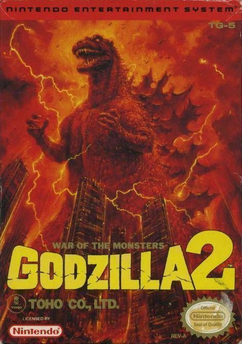 Godzilla 2 - War Of The Monsters