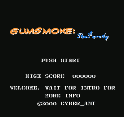 Gum Smoke - The Parody (Gun Smoke Hack)