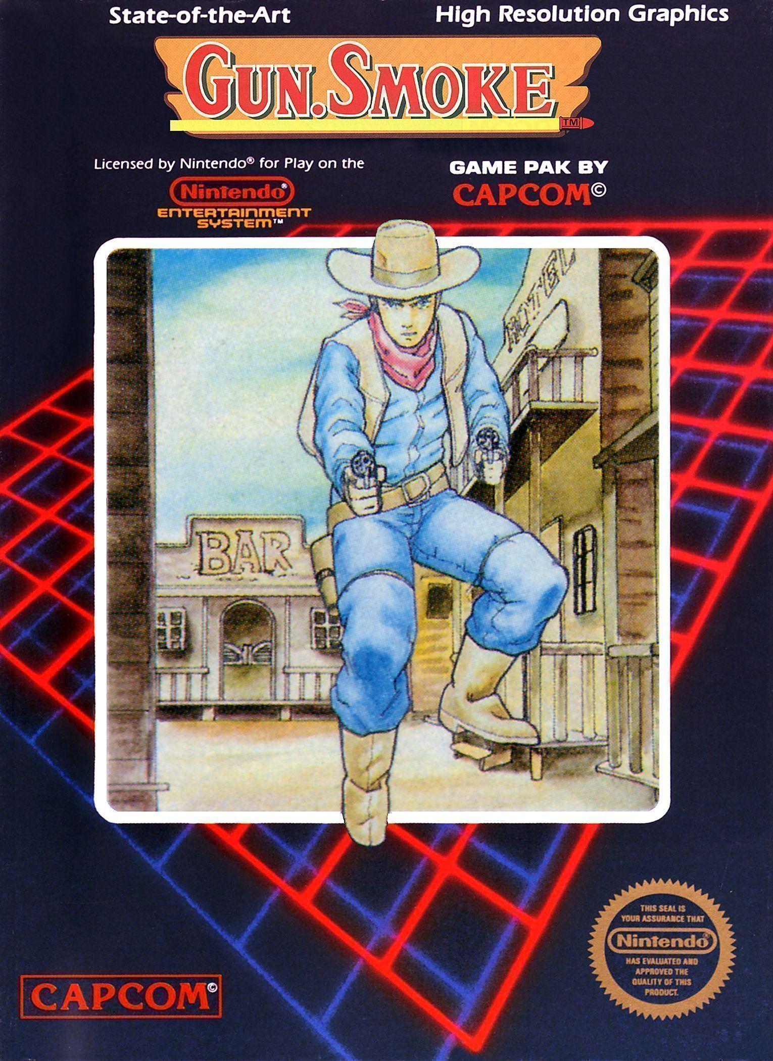 Gun Smoke H1 Rom Nintendo Nes Emulator Games