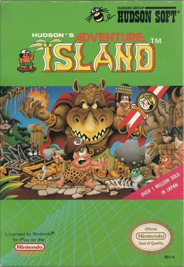 Hudson's Adventure Island [T-Span0.99]