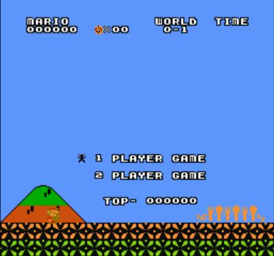 Hungry Mario (SMB1 Hack)