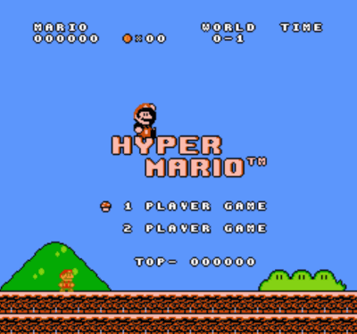 Hyper Mario (SMB1 Hack)