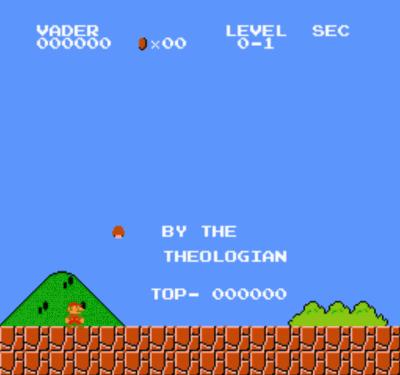 Jedi Mario Bros (SMB1 Hack)