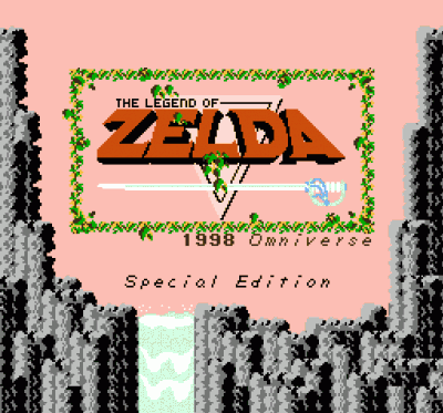 Legend Of Zelda, The - Special Edition (Hack)
