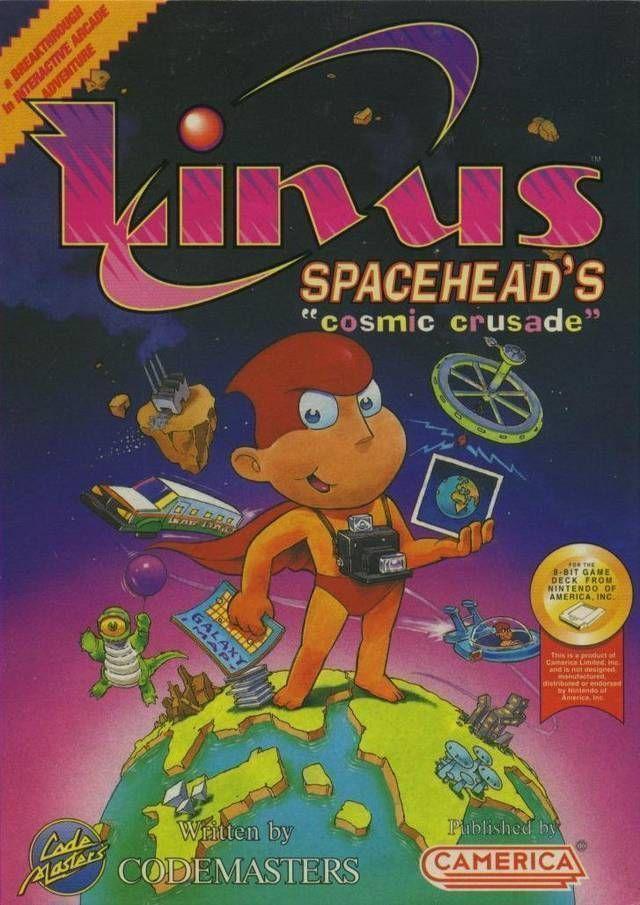 Linus Spacehead's Cosmic Crusade (Aladdin)