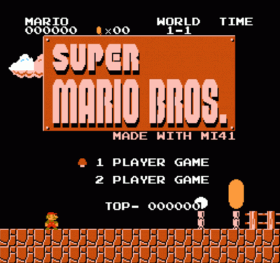 Mario MI41 (SMB1 Hack) [a2]