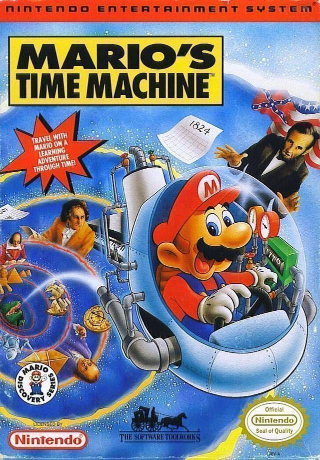 Mario's Time Machine!