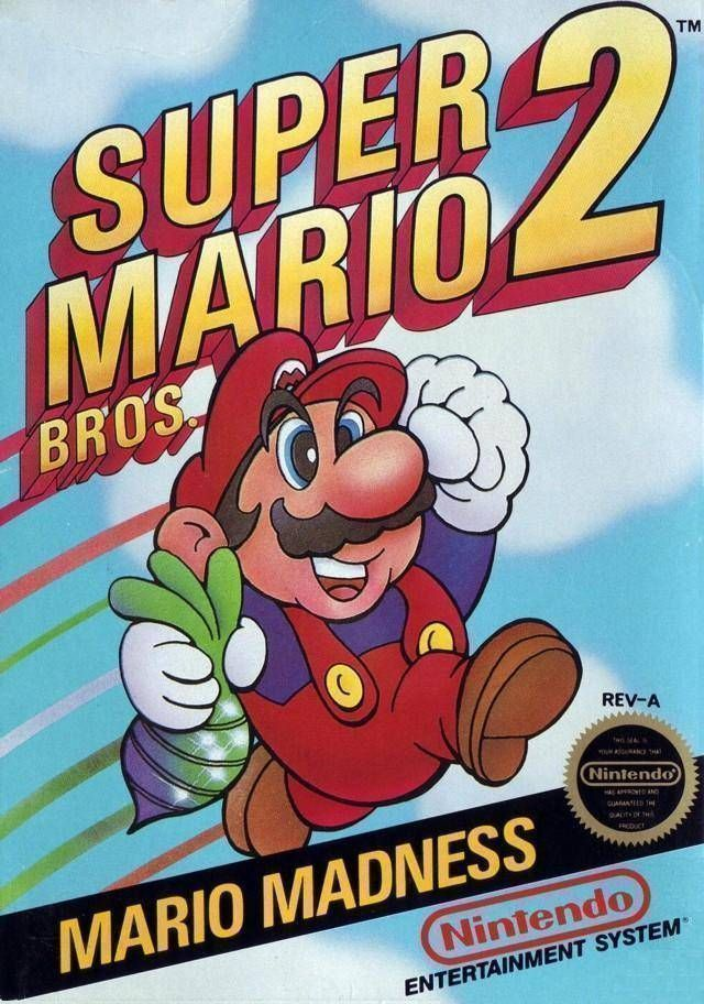 Mario Satanic Freak Bros 2 (SMB2 Hack)