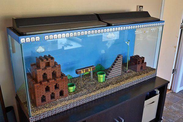 Mario Tank & Sub (SMB1 Hack)