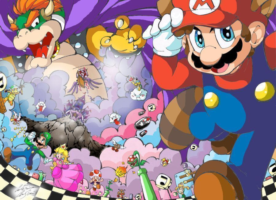Mario Tokes A Doobie (SMB1 Hack)
