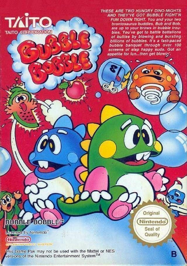 Mean Bubble Bobble (Hack)