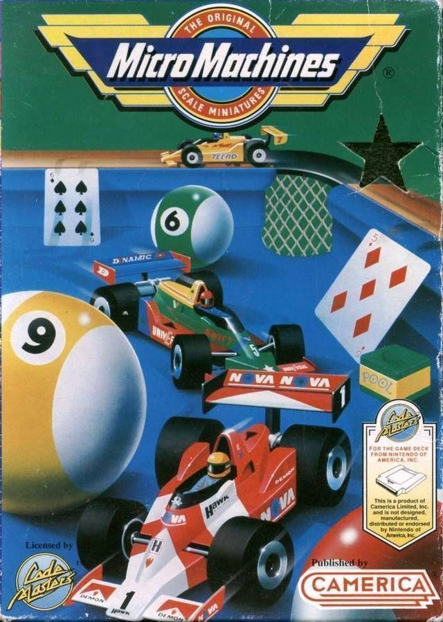 Micro Machines (Aladdin)
