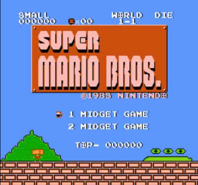 Midget Mario V1.2 (SMB1 Hack)