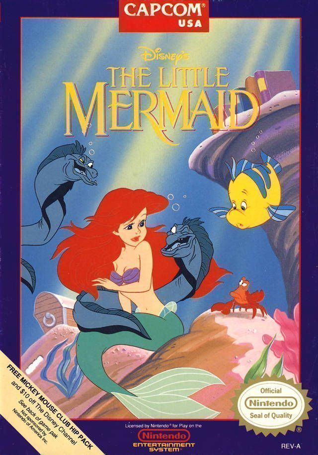 Naked Little Mermaid, The (Little Mermaid Hack)